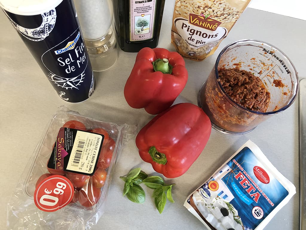 Grilled stuffed peppers ingredients