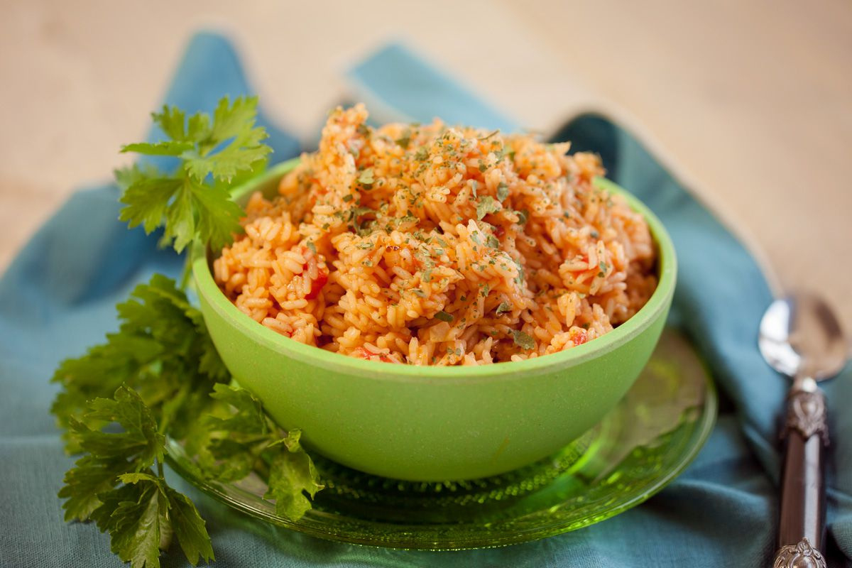 Spanish rice for Rice recipes to go with fish