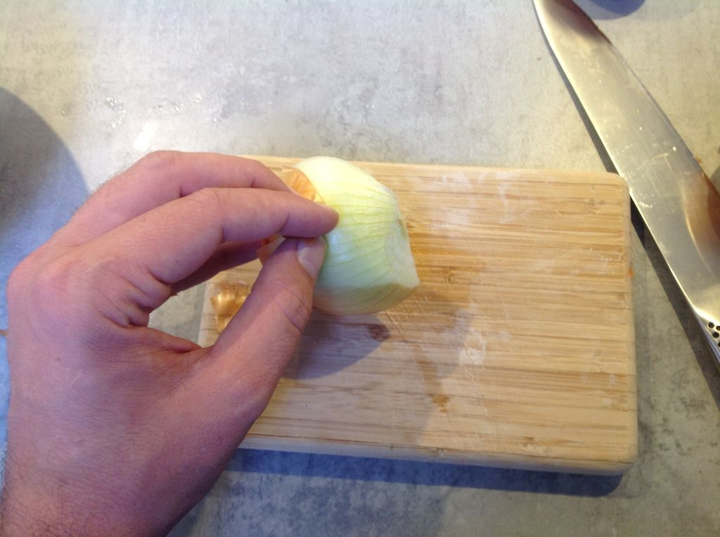 How to cut an onion 3