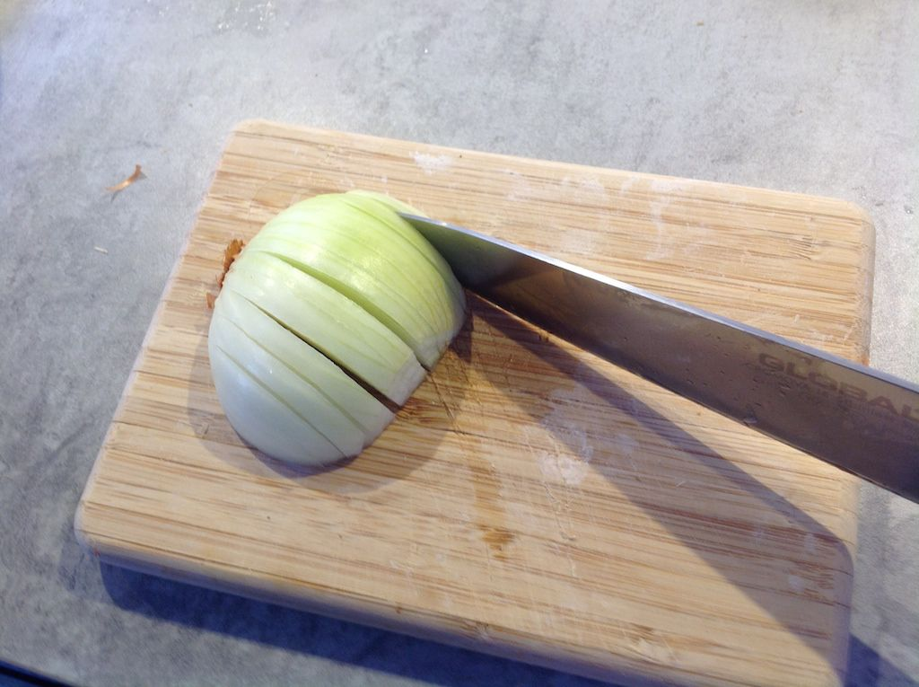 How to cut an onion 4