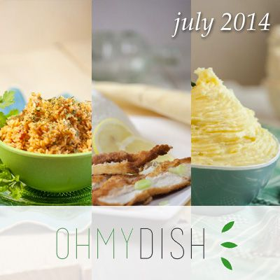 month report - Most viewed dishes july 2014