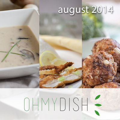 Most viewed dishes august 2014