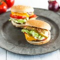 Classic cheeseburger 120x120 - Chicken burgers