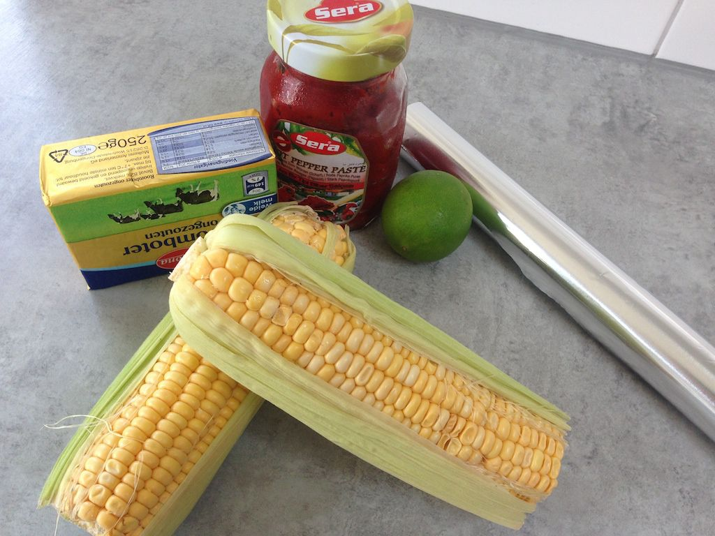 Corn on the cob roasted in the oven ingredients