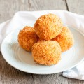 Deep fried risotto arancini