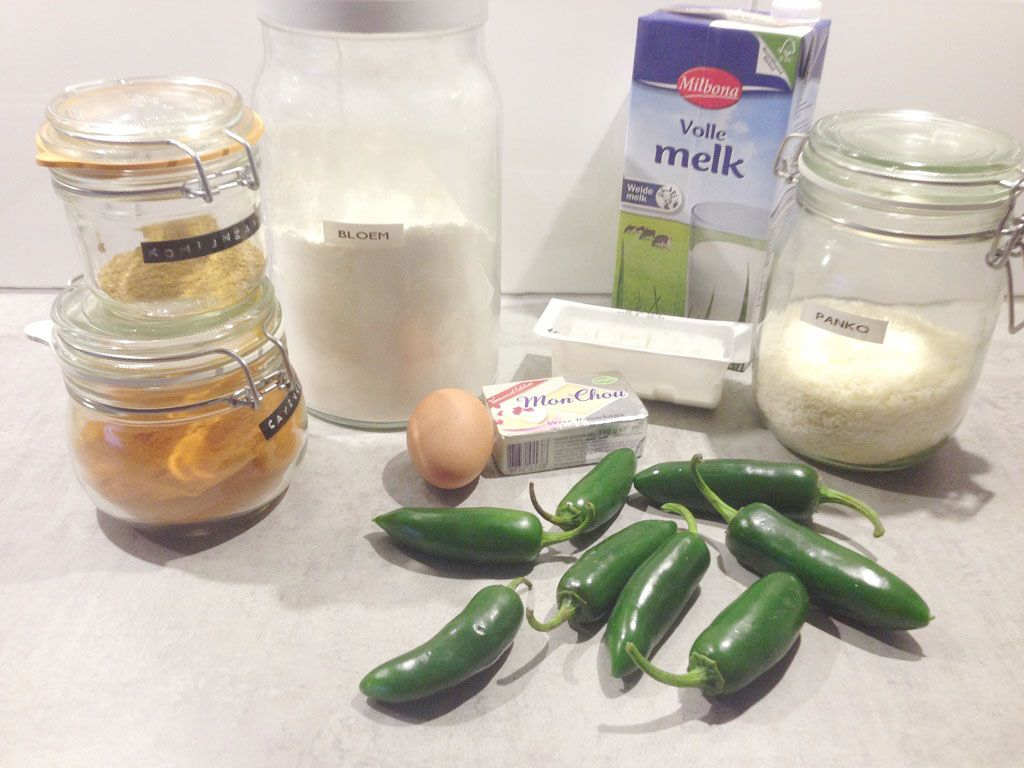 Jalapeno poppers ingredients