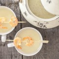 Jerusalem artichoke soup with scampi 120x120 - Paprika soup