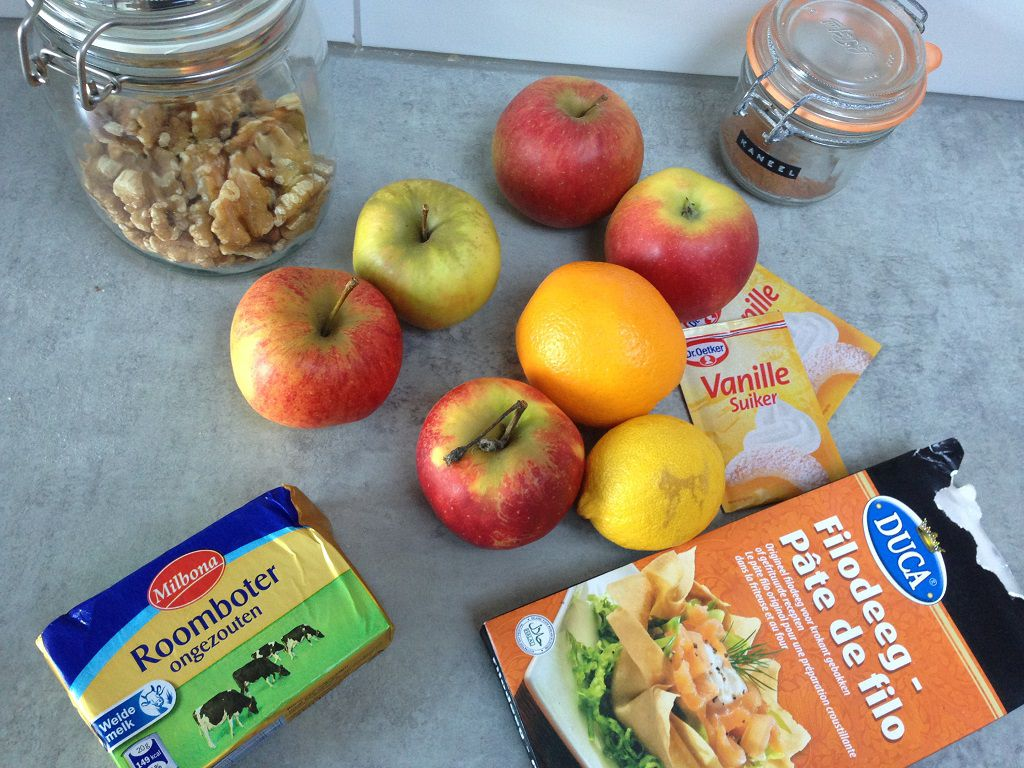 Mini apple pie tartlets ingredients