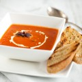 Tomato soup 120x120 - Red cabbage soup