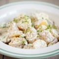Baby potato salad 120x120 - Baby pineapple shrimp salad
