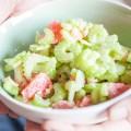 Celery grapefruit salad 120x120 - Crunchy apple salad