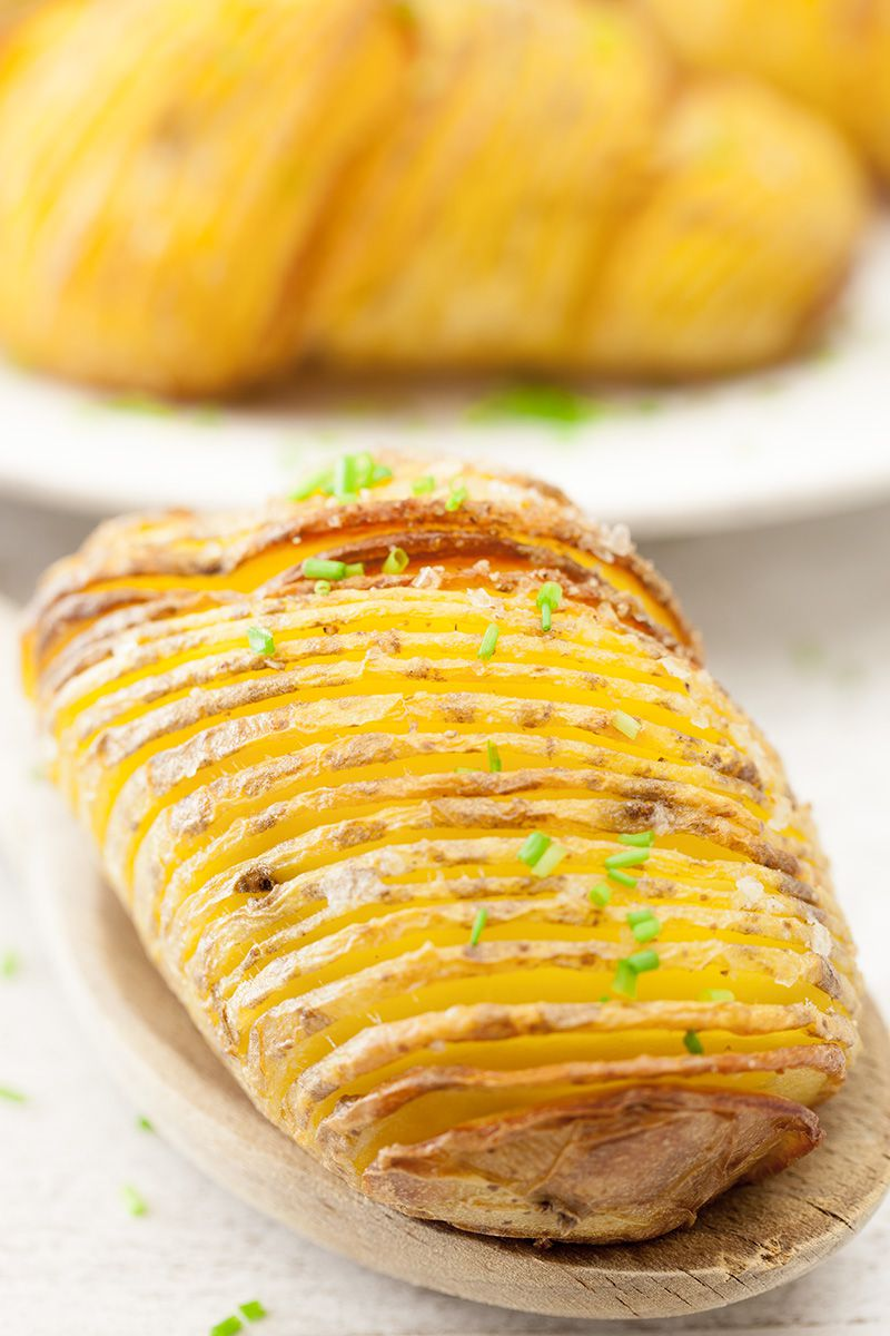 Hasselback potatoes 2 - Hasselback potatoes from Stockholm