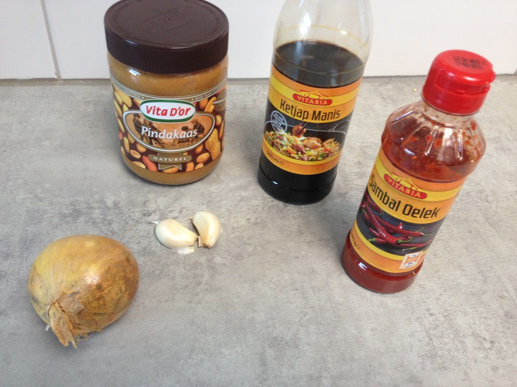 Satay sauce ingredients
