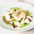 Cod and apple salad 120x120 - Crunchy apple salad