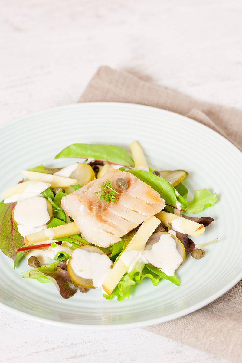 Cod and apple salad 2 - Cod and apple salad