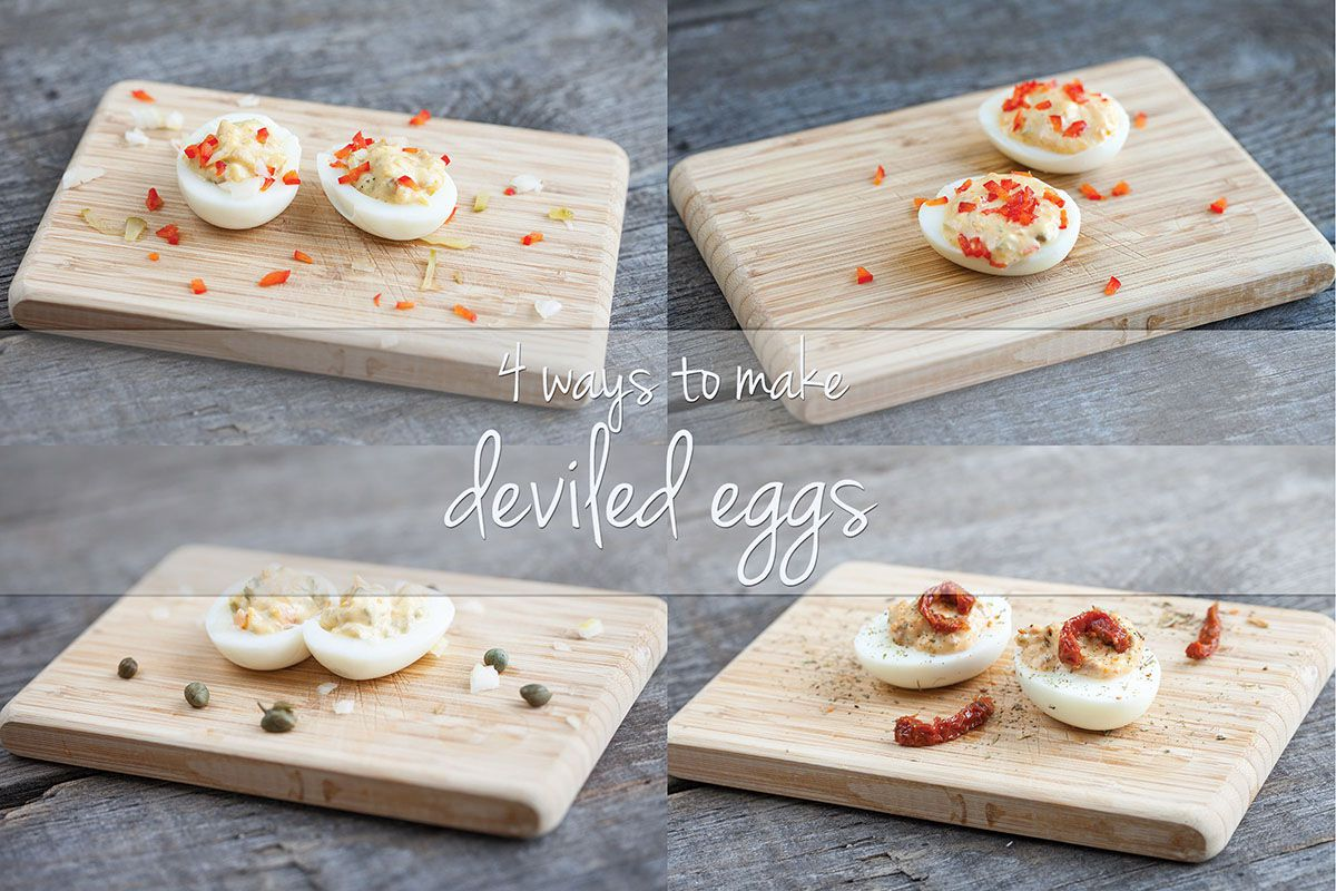 4 ways to make deviled eggs - ohmydish.com
