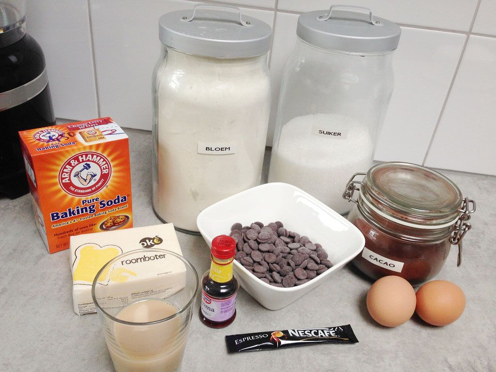 Bailey's Irish cream brownies ingredients