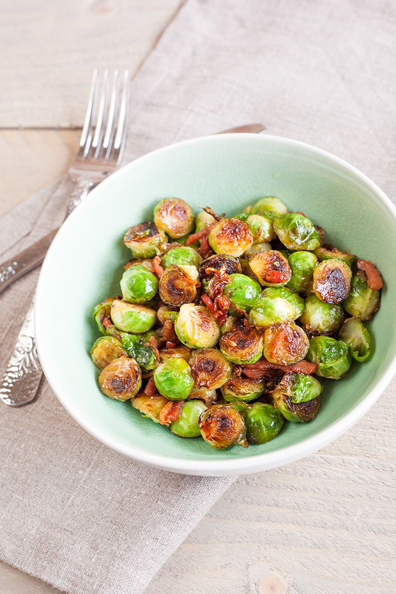 Caramelized Brussels sprouts 2 - Caramelized Brussels sprouts