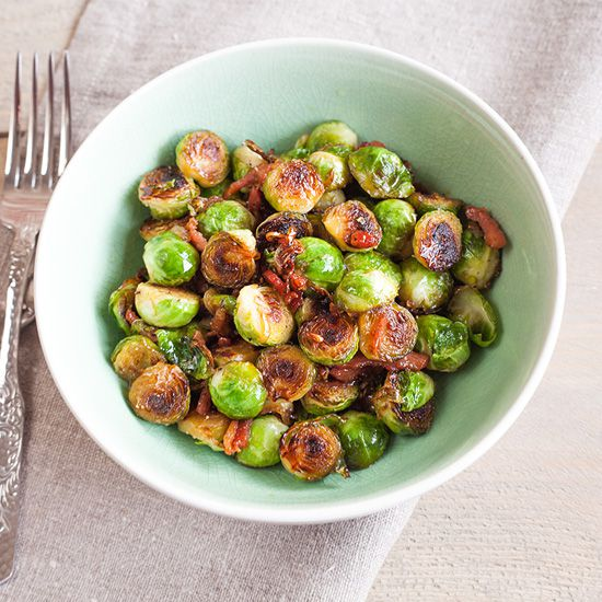 Caramelized Brussels sprouts square - Caramelized Brussels sprouts