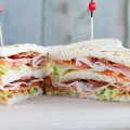 Club sandwich 120x120 - Smoked chicken breast and red pesto sandwich