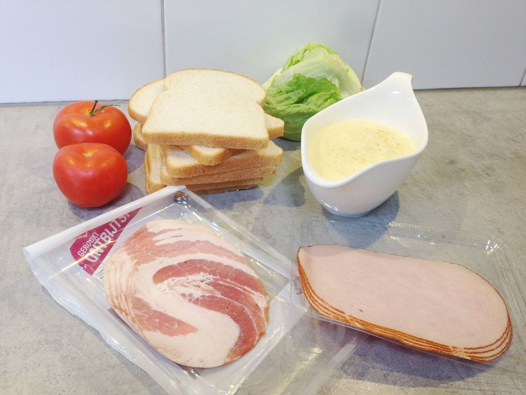 Club sandwich ingredients