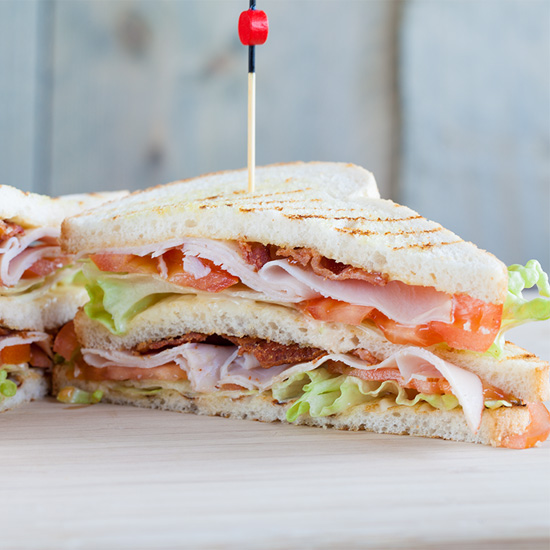Club sandwich square - Club sandwich
