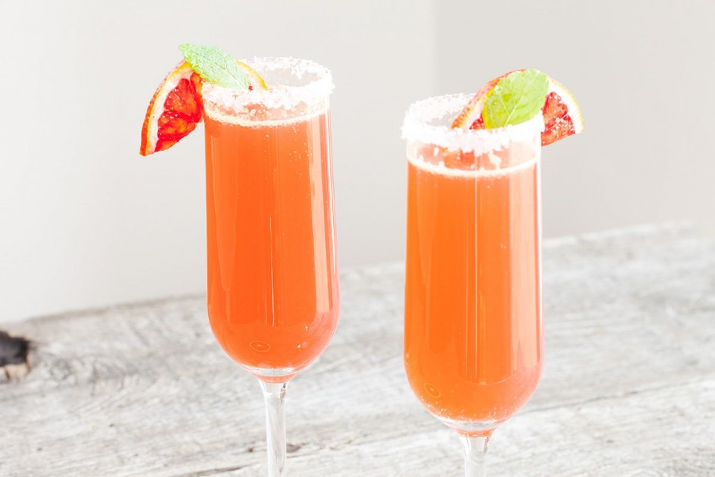 Cointreau fizz blood orange Orange