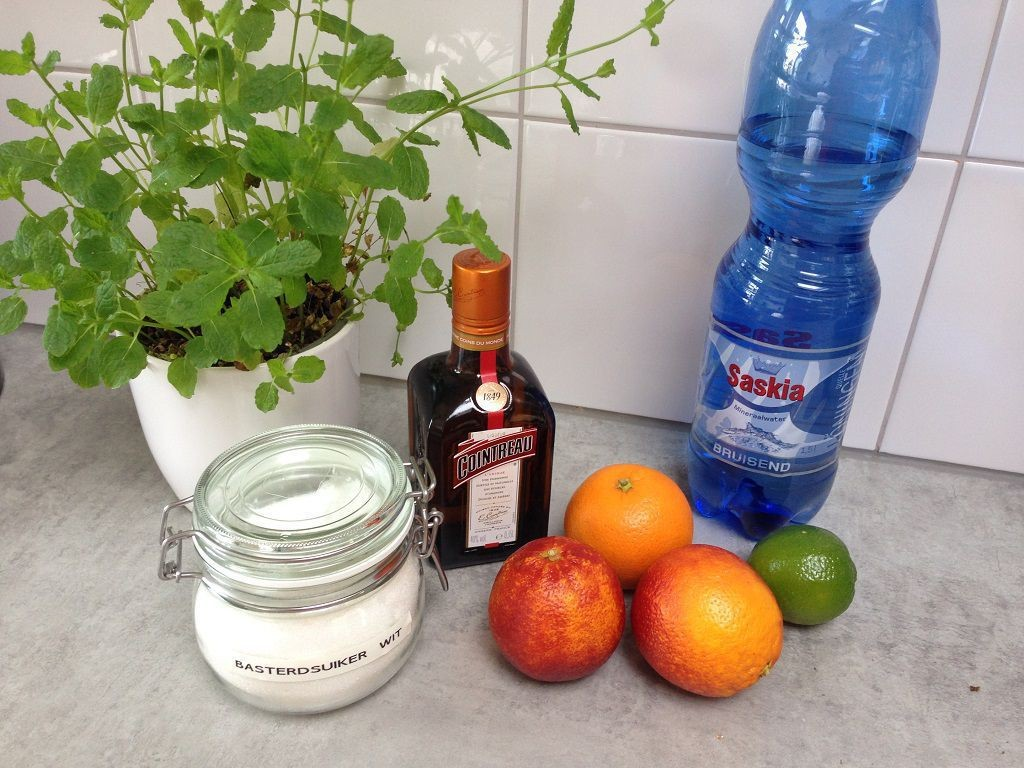 Cointreau fizz blood orange cocktail ingredients