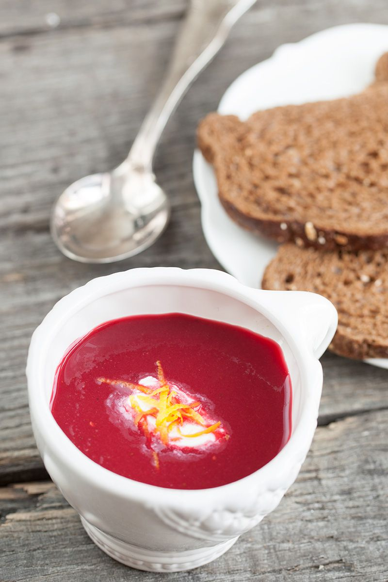 Red beet soup 2 - Red beet soup