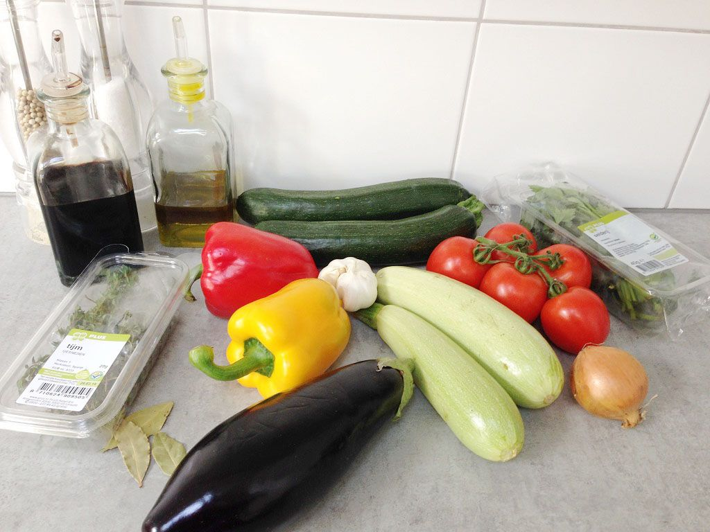 Remy's ratatouille ingredients