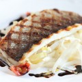 Sea bass balsamico and chicory 120x120 - Baked sea bass with lemongrass and ginger