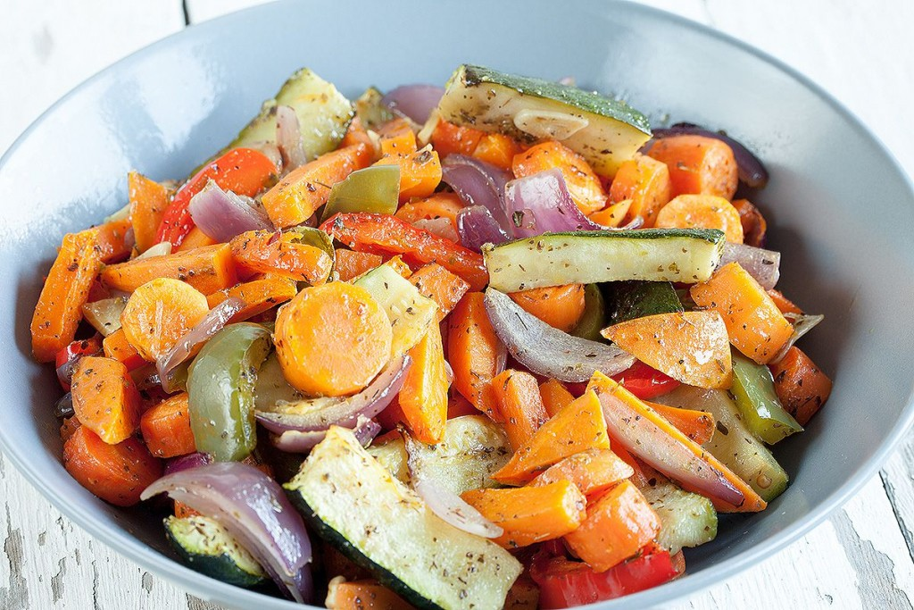Beautiful roasted vegetables