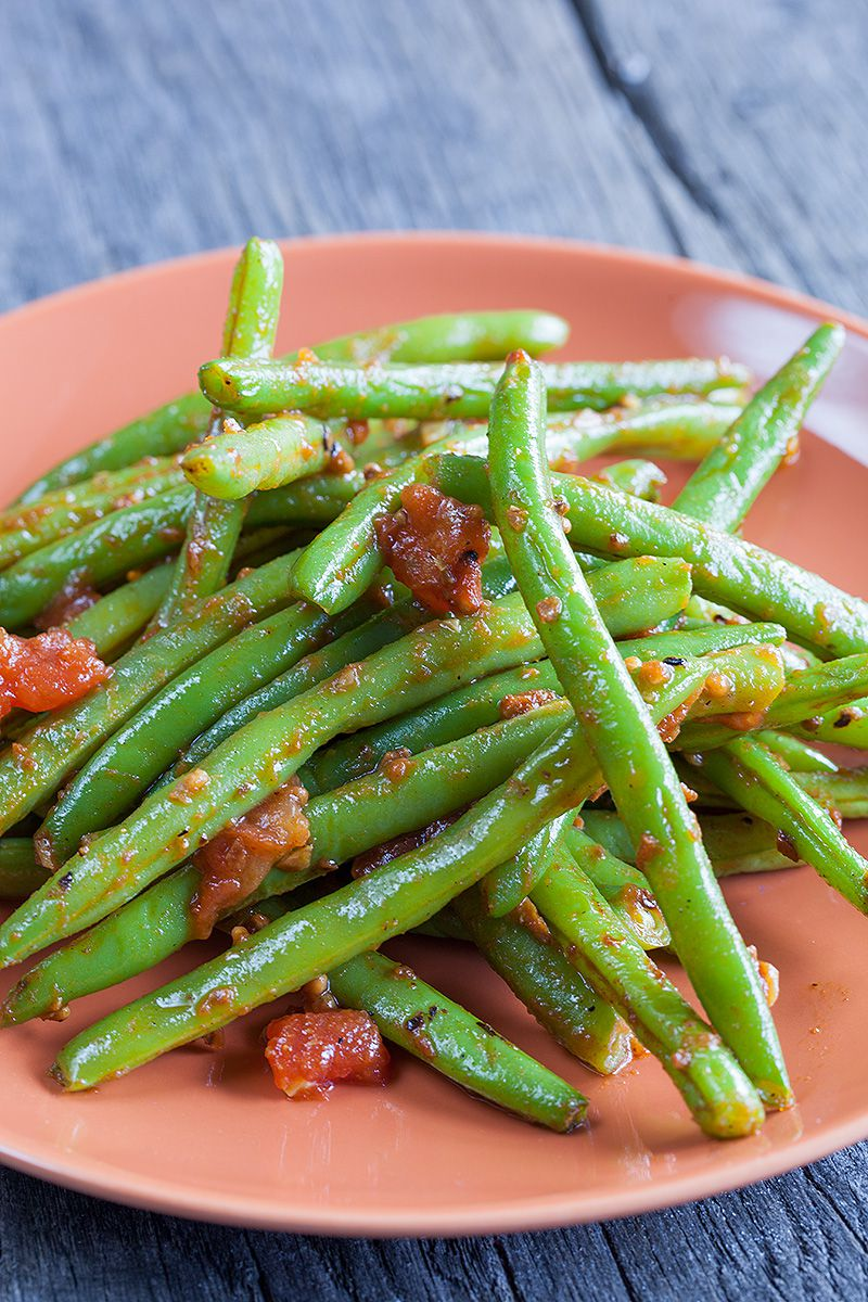 Oriental green beans 2 - 5 Irresistible oriental recipes