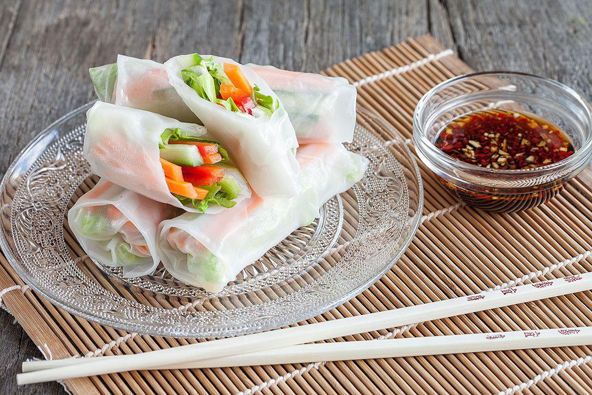 How to Cook With Spring Roll Wrappers