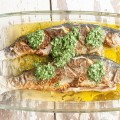 Trout with herb butter 120x120 - Surf and turf with herb butter