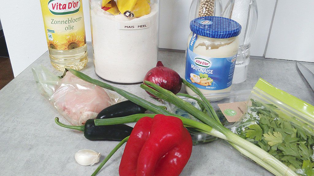 Arepas ingredients - Arepas