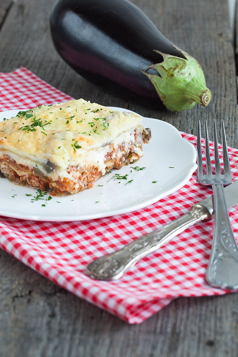Greek moussaka 2 - Greek moussaka