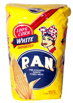 P.A.N. white corn meal - Arepas