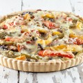 Vegetarian quiche 120x120 - Vegetarian pot pie