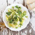 Broad beans salad 120x120 - Cod with broad beans and cauliflower
