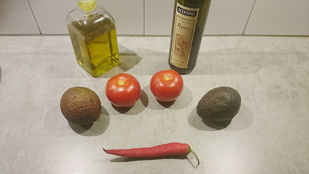 Guacamole ingredients - Guacamole