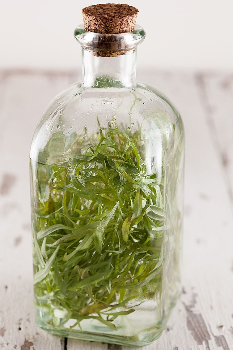How to make estragon vinegar - How to make a basic vinaigrette