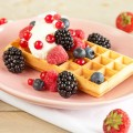 Waffles with red fruits 120x120 - Pumpkin waffles