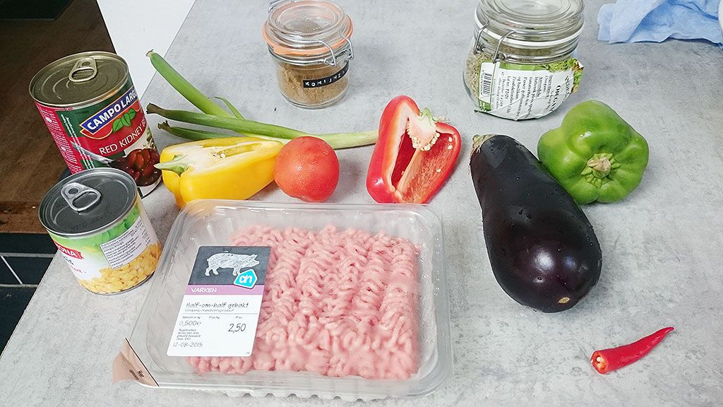 Ground beef tacos ingredients - Ground beef tacos