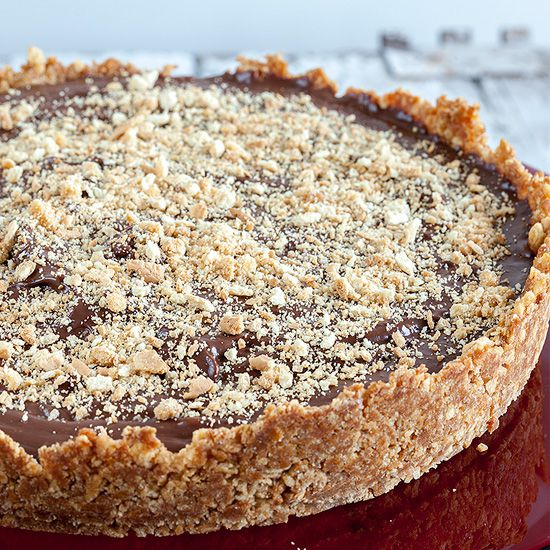 Mexican chocolate pie square - Mexican chocolate pie