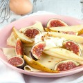 Crepes with figs and pears 120x120 - Caramelized pears