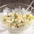Crunchy apple salad 120x120 - Broccoli apple salad