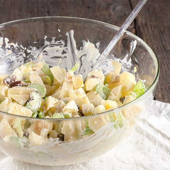Crunchy apple salad square - Crunchy apple salad