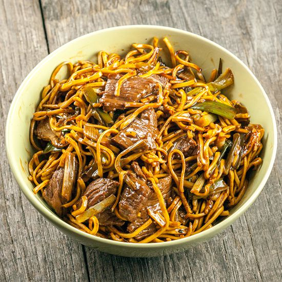 Beef chow noodles square - Beef chow noodles