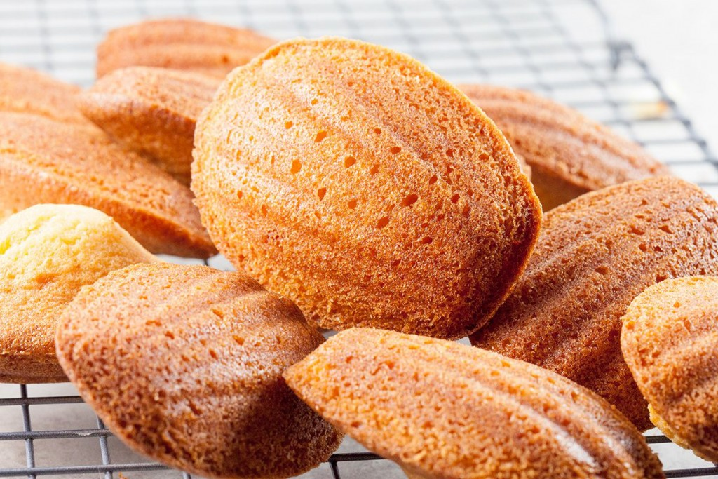 Classic French madeleines 1024x683 - Chocolate madeleines